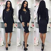 Женское платье черного цвета от YuLiYa Chumachenko, фото 1