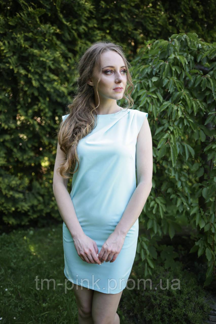 """Сукня косі складки від плеча Колекція """"Магнолія"""""""