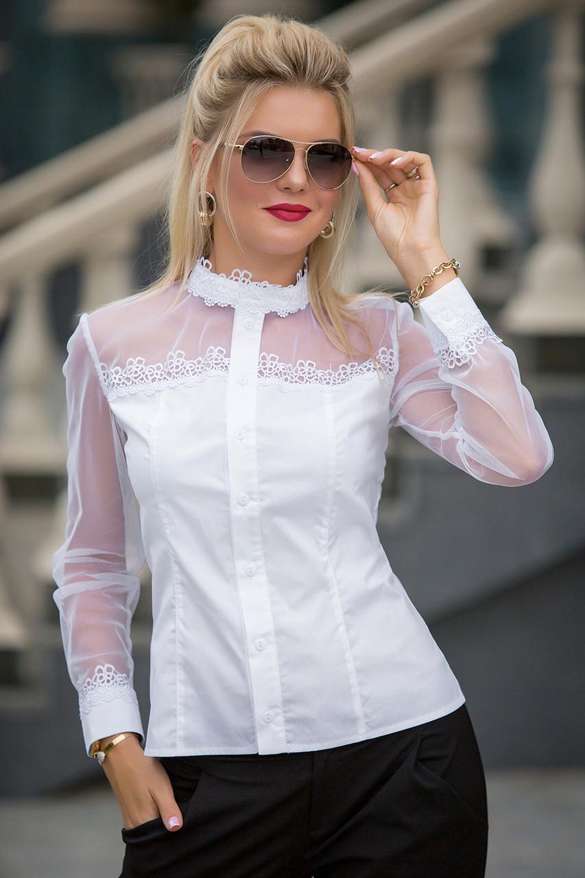 Белая Рубашка Рамина