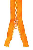 Молния тракторная №5 Оранжевый пластиковая длина 45см 1Б