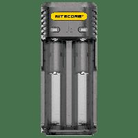 Зарядное устройство для аккумуляторов Nitecore Q2 (2 канала), Black