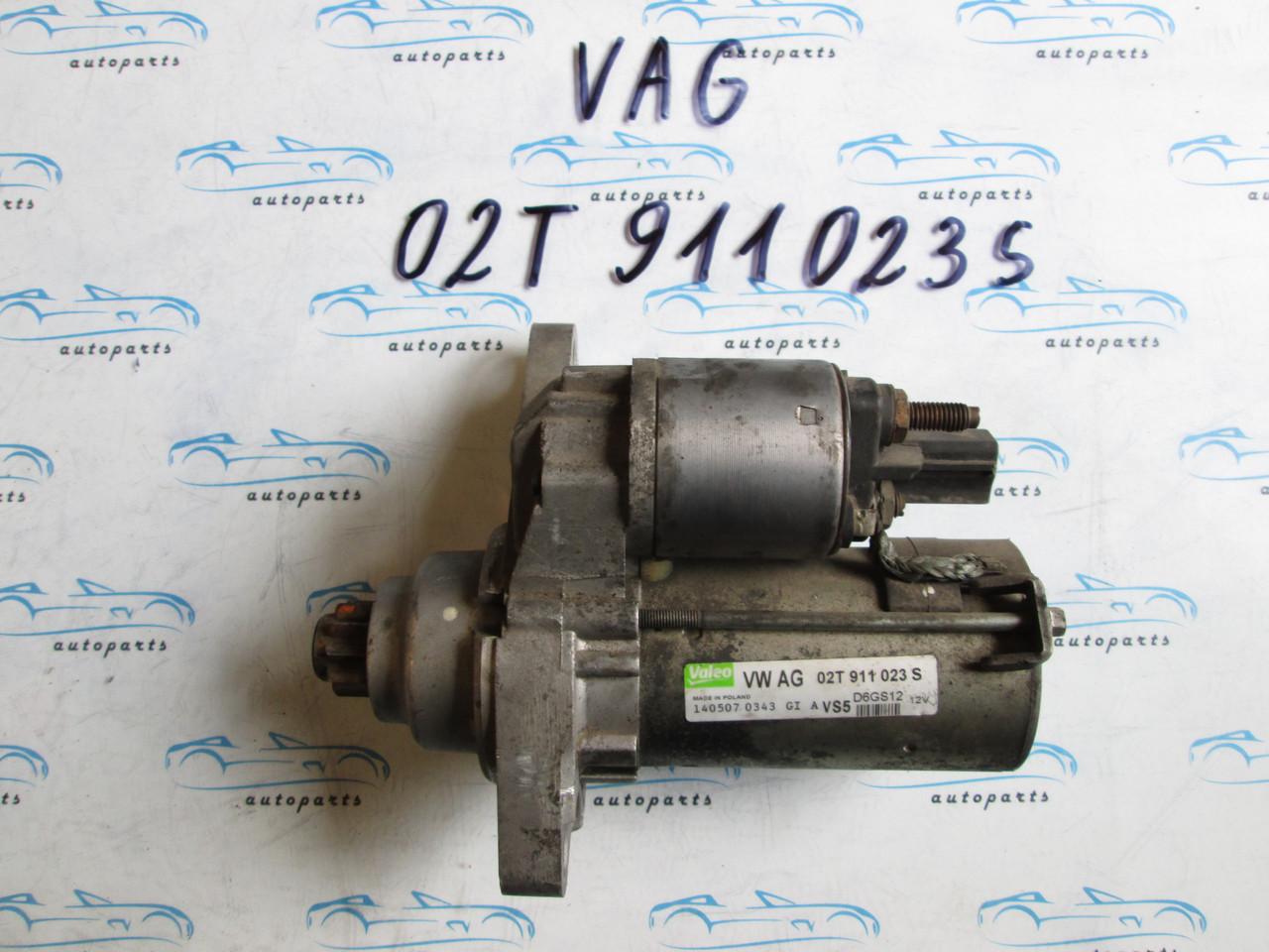 Стартер VAG 02T911023S, D6GS12