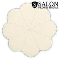 Salon Prof. Спонж 8шт набор латекс ромашка-дольки белые 12452