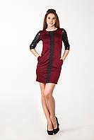 Женское платье, бордового цвета от YuLiYa Chumachenko, фото 1