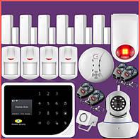 Готовые комплекты GSM и GSM/PTSN Сигнализаций
