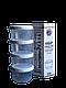 Набор емкостей для мелких сыпучих и жидких продуктов 4х150мл. белый (арт. 87б)