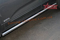 Пороги труба d 60 (компл. 2 шт) Союз 96 на Kia Sorento 2009-2012