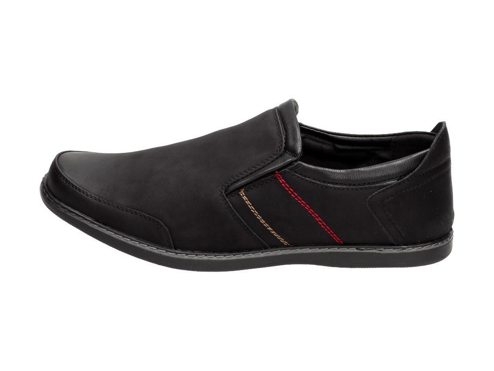 f12f1760e Черные мужские ботинки, мокасины НОВАЦКИ DM17-1A: продажа, цена в ...