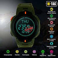 M-Tac часы тактические с компасом олива 50003001, фото 1