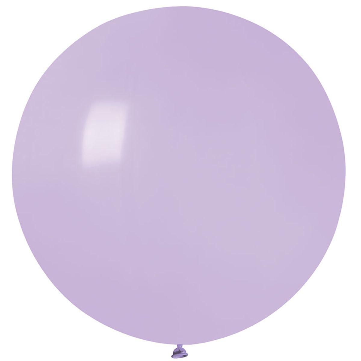 Воздушный шар 80 см сирень