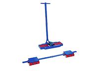 Сверхмощные управляемые платформы скейты X12+Y12, грузоподъемность 24 тн (комплект из 3 тележек)