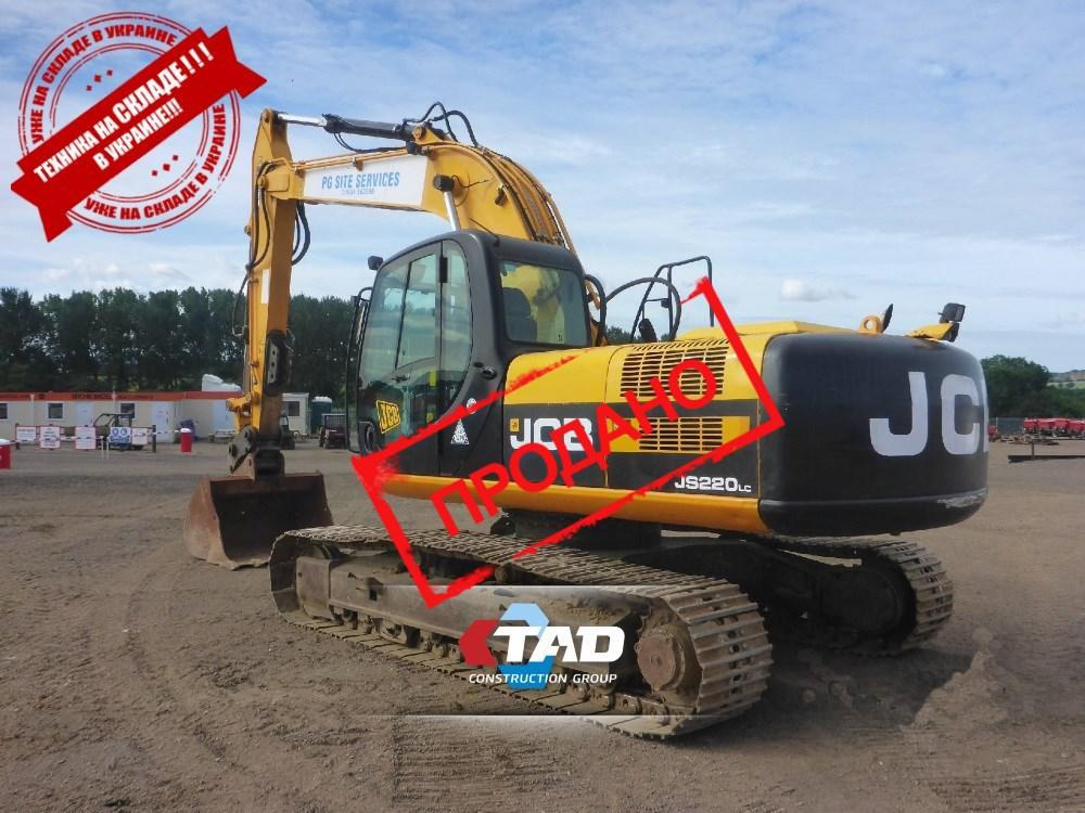 Гусеничный экскаватор JCB JS220LC (2011 г)