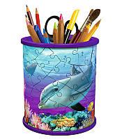 Об'ємний пазл 3D Ravensburger серія Girly Girl - Підставка для олівців Підводний світ (RSV-121168)