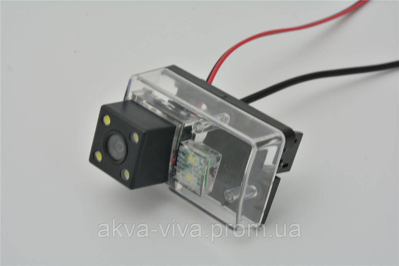 штатная беспроводная камера заднего вида peugeot 307