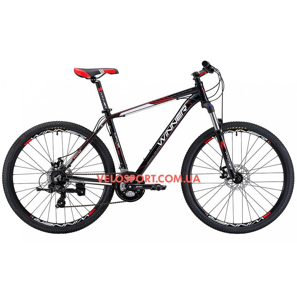 """Горный велосипед Winner Impulse 27.5 дюймов 19"""" черный"""
