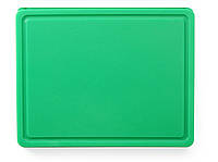 Доска разделочная пластиковая зеленая GN 1/2- 265x325 мм 826133 Hendi (Нидерланды)