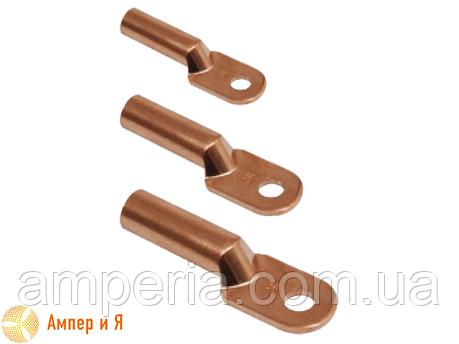 Медный кабельный наконечник для опрессовки DT-50 (ТМ-50, 50-8-5,4-М-УХЛ3), фото 2