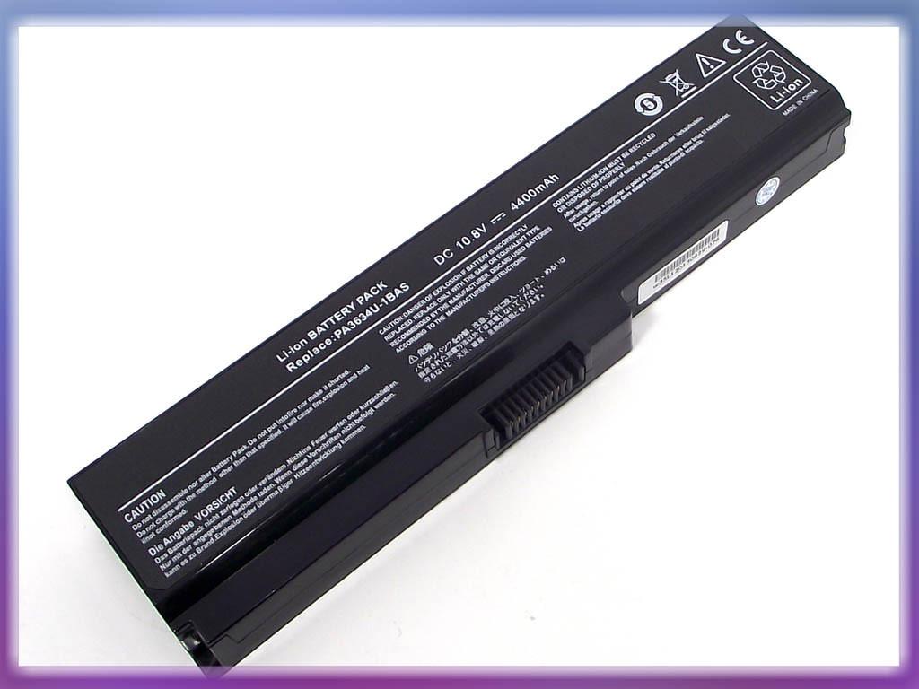 Батарея Toshiba (PA3634U) Satellite U400 (10.8V 4400mAh). Black