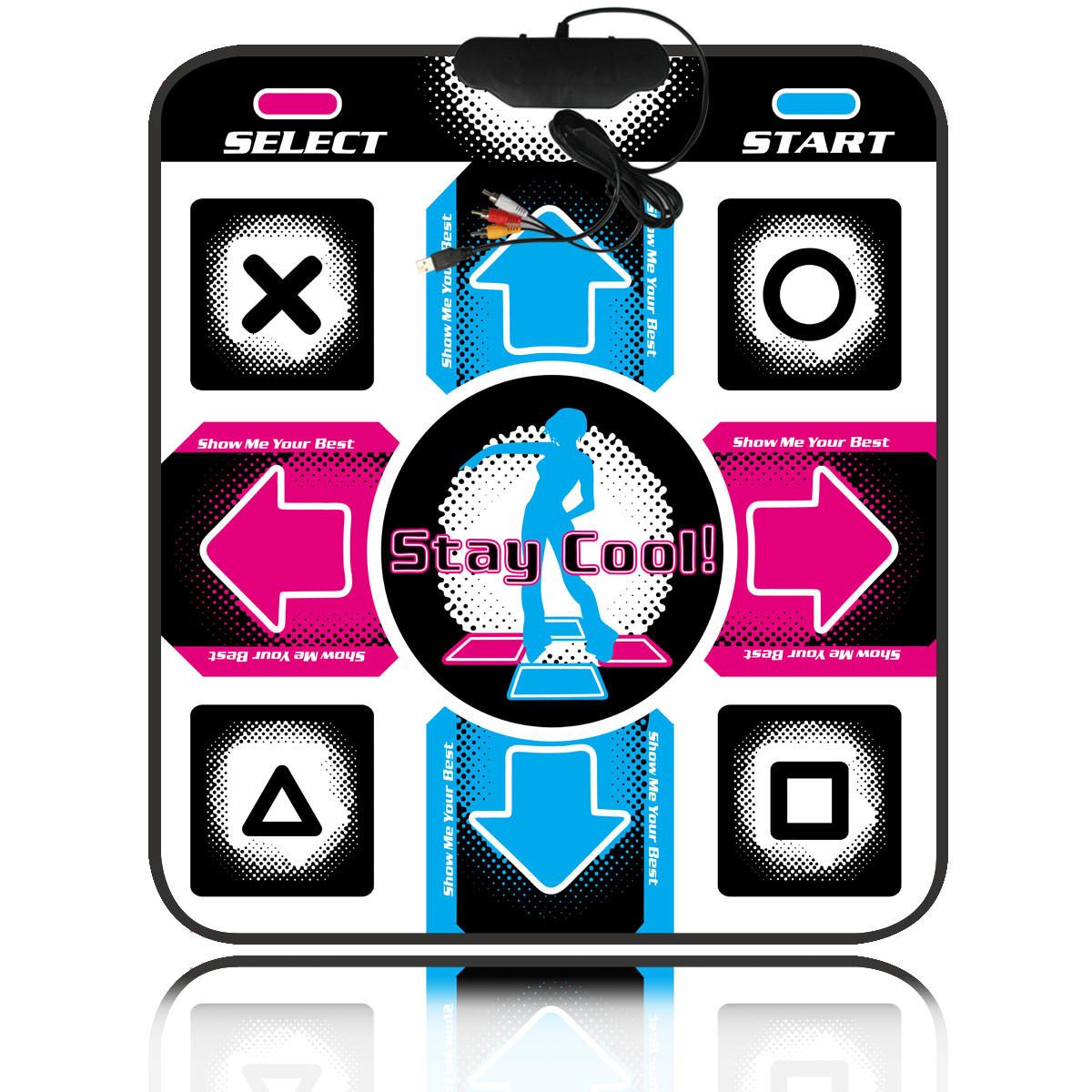 Танцевальный коврик для детей на PC с USB X-TREME Dance PAD, развивающий музыкальный коврик