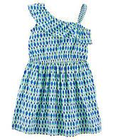 """Платье для девочки """"Геометрия"""" 7 лет 124-130 см Carters"""