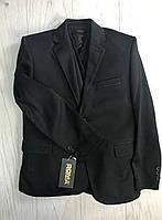 Пиджак  трикотаж для мальчика 6-10 лет