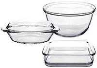 Набор посуды термостекло 4 предмета Stenson MS-0141