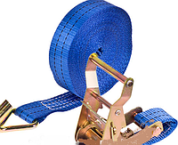Стяжка груза 1Т. ST-235/213G-10 BL 35мм х 10м (кулёк)