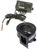 Комплект автоматика IE-26 с Г.В.С. и вентилятор DRV-14 для твердотопливного котла, фото 1