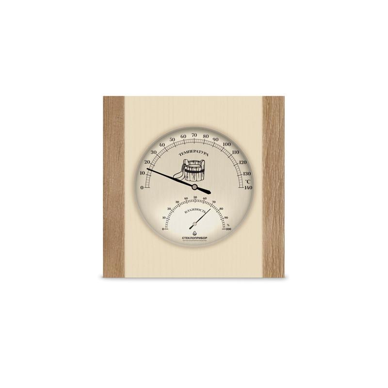 Термогигрометр для бани одинарный ТС-3, Saunapro