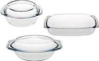 Набор посуды из термостекла 5 предметов Stenson 260027