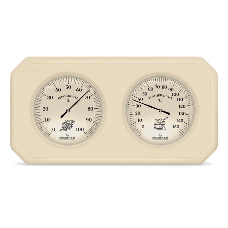 Термогигрометр для бани двойной ТС-2, Saunapro