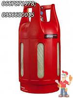 Композитный газовый баллон Safe Gas 24  л с предохранительным клапаном