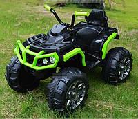 Детский Квадроцикл на аккумуляторе M 3156 EBLR-2-5 зеленый с черным. Разные цвета.