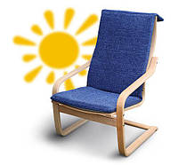 Кресло-качалка из дерева