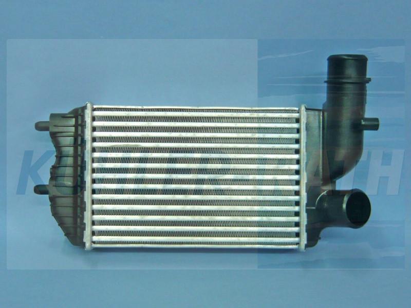 Радиатор интеркулера Citroen Jumper 1994-2006 KEMP
