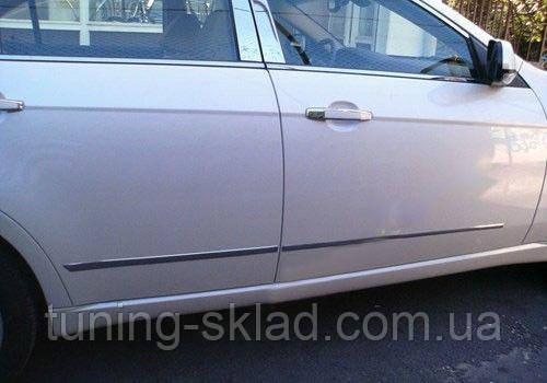Хром накладки на двери Chevrolet Epica (Шевроле Эпика)
