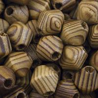 Бусины деревянные, биконус, коричневые,16х15 мм ( 20 шт) УТ0027818