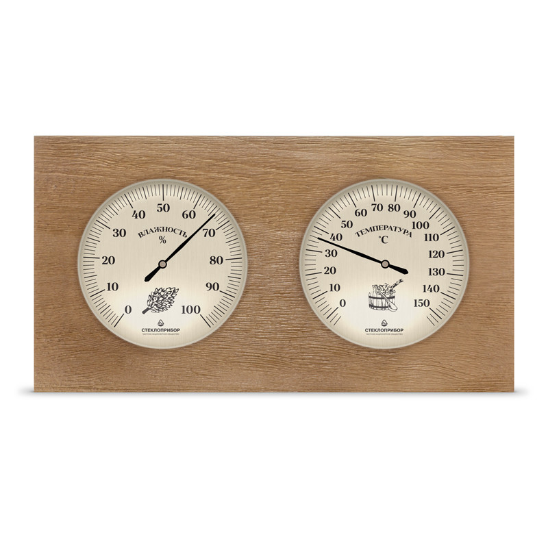 Термогигрометр для бани двойной ТС-7, Saunapro