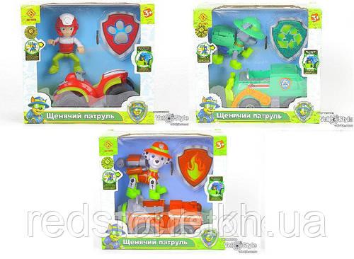Щенячий патруль Спасательный автомобиль с водителем CH-701 (5 видов)