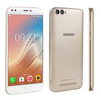 Смартфон Doogee x30 золотой (экран 5.5 дюймов, памяти 2Gb RAM+16Gb*БАТАРЕЯ 3360 мАч, фото 1