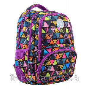 Молодежный рюкзак 1 вересня t-48 facet на 24 литра (555543)