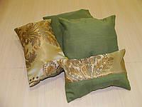 Комплект подушек  Мозаика зелень, 4шт