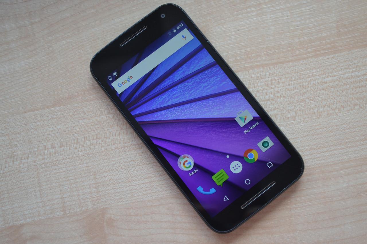 Motorola Moto G3 (3rd gen) XT1540 Black Оригинал!
