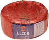 Кабель силовой ВВГ-Пнгд 2х2,5 ELCOR медный ГОСТ красный, фото 2