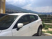 Дефлекторы окон (ветровики) Mazda cx-5 (мазда сх-5) 2012+