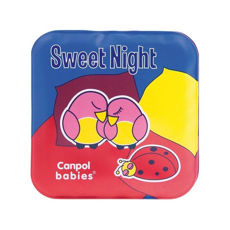 Canpol игрушка-книжечка мягкая пищалка «День и Ночь» 74/014