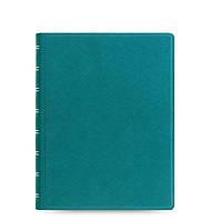 Блокнот Filofax Saffiano Средний А5 Aquamarine (16,3х21,4 см) (115034) (5015142245894)