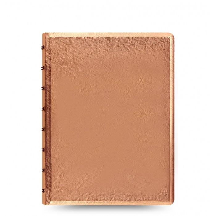 Блокнот Filofax Saffiano Средний А5 Rose Gold (16,3х21,4 см) (115058), фото 1