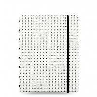 Блокнот Filofax Impressions Средний А5 Black and White (16,3х21,4 см) (115042), фото 1