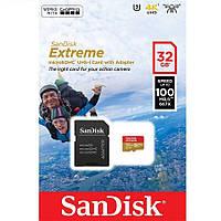Sandisk microSDHC 32GB Extreme Action A1 Class V30 UHS-I U3 (SDSQXAF-032G-GN6AA)